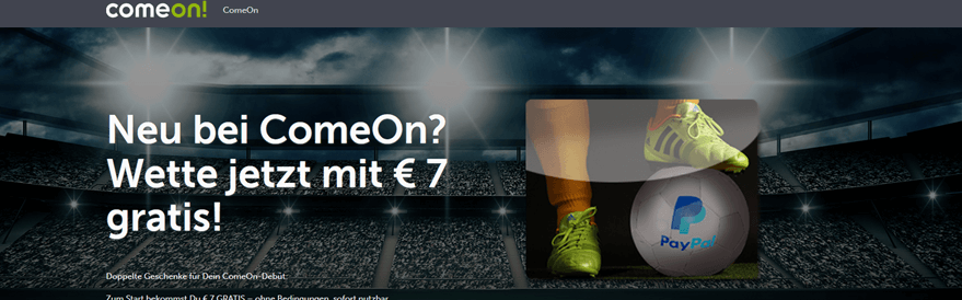 Comeon 7 Euro Gutschein