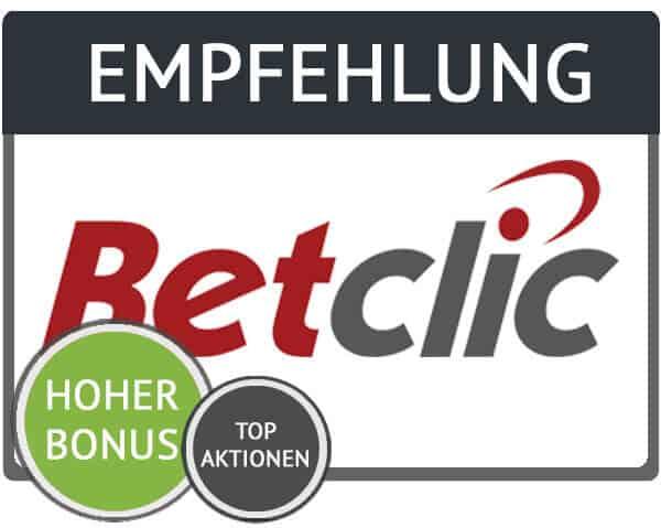Empfehlung Betclic Gutschein