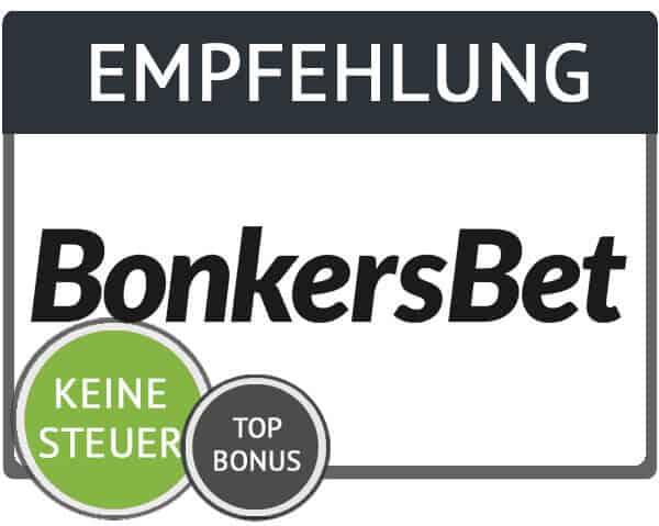Empfehlung BonkersBet Gutschein
