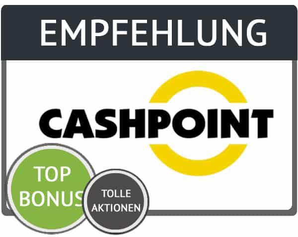 Empfehlung des Cashpoint Gutschein